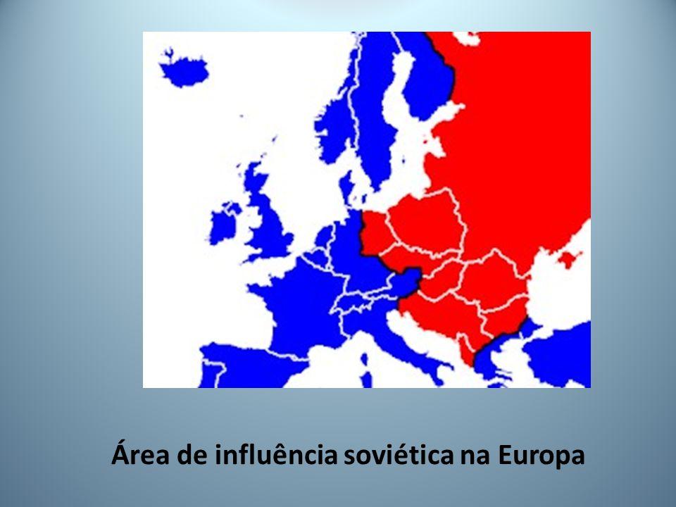 Área de influência soviética na Europa