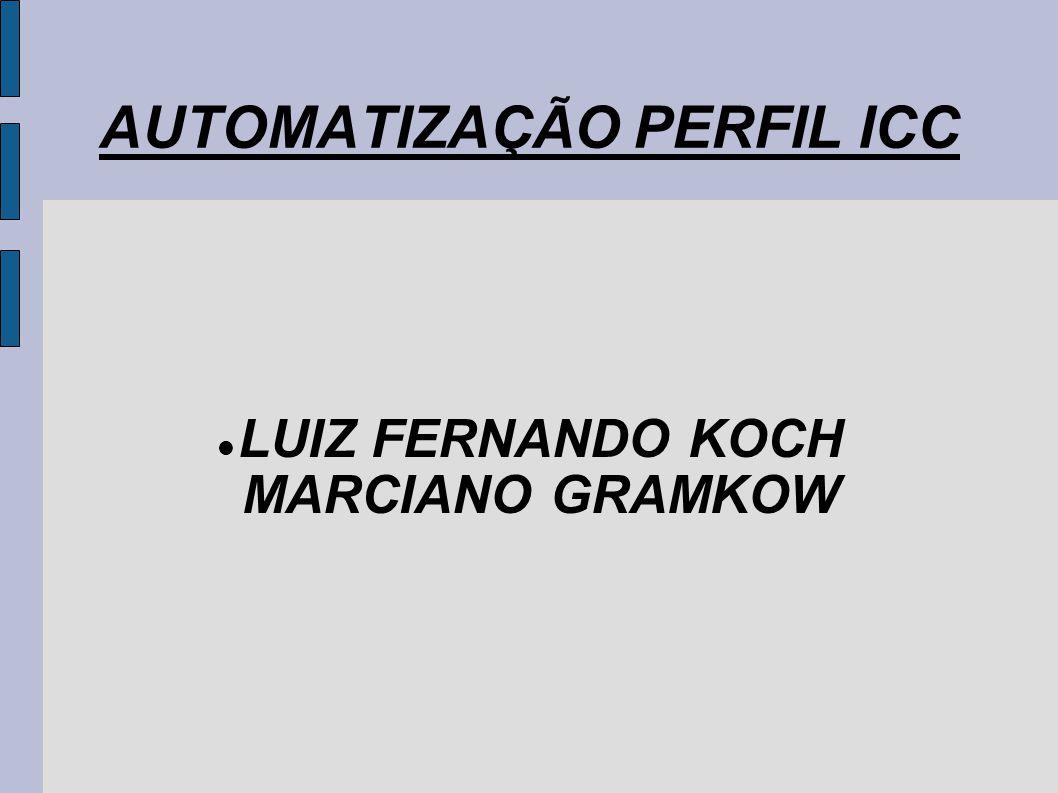 AUTOMATIZAÇÃO PERFIL ICC