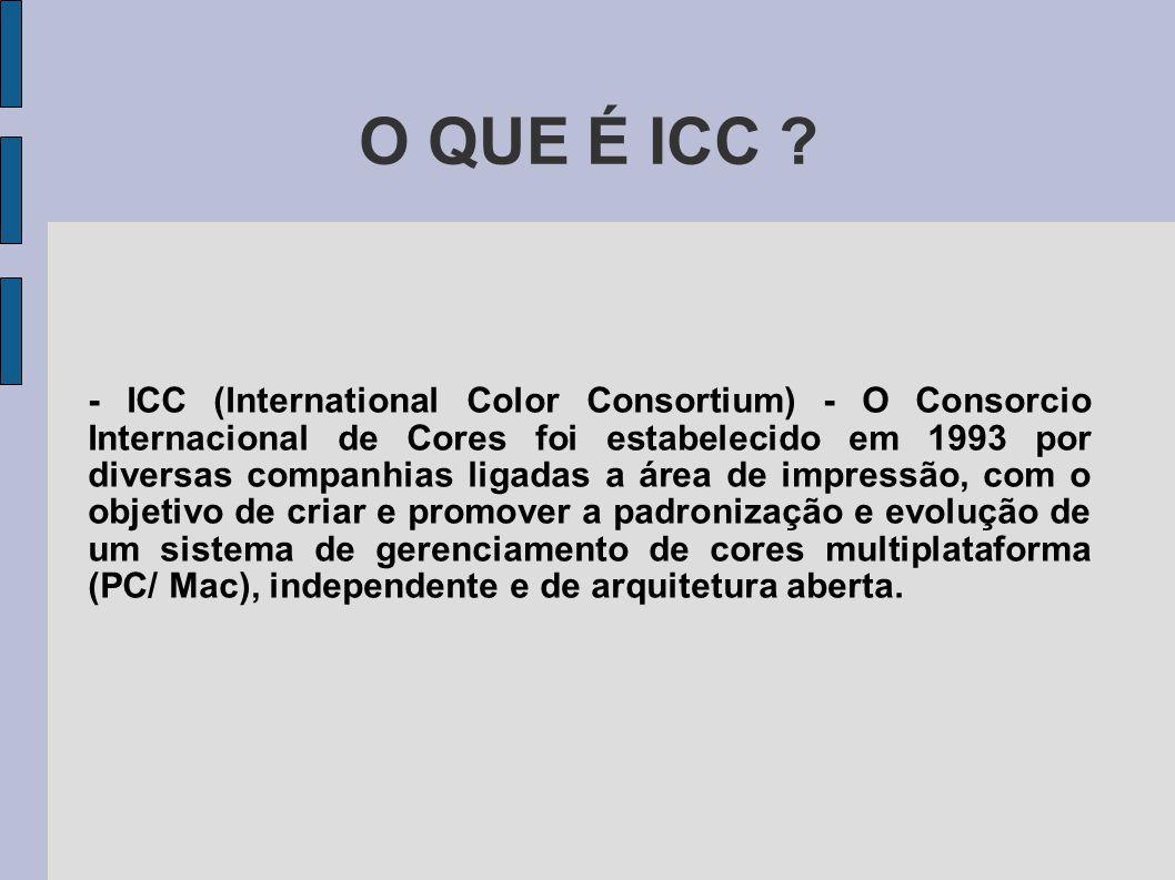 O QUE É ICC