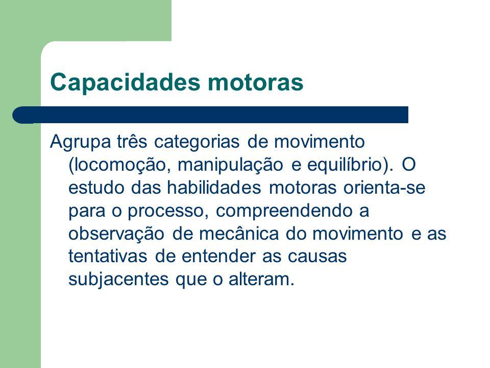 Capacidades motoras