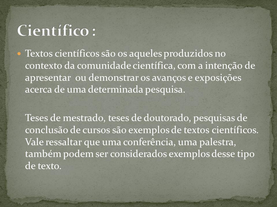 Científico :