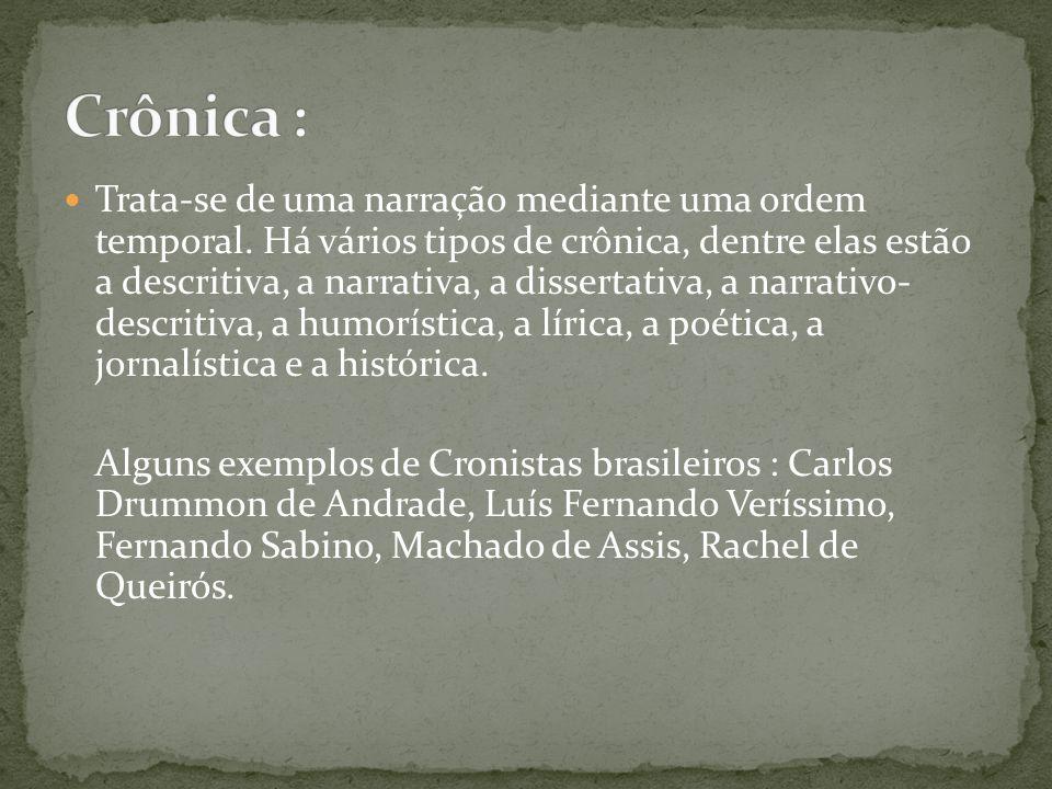 Crônica :