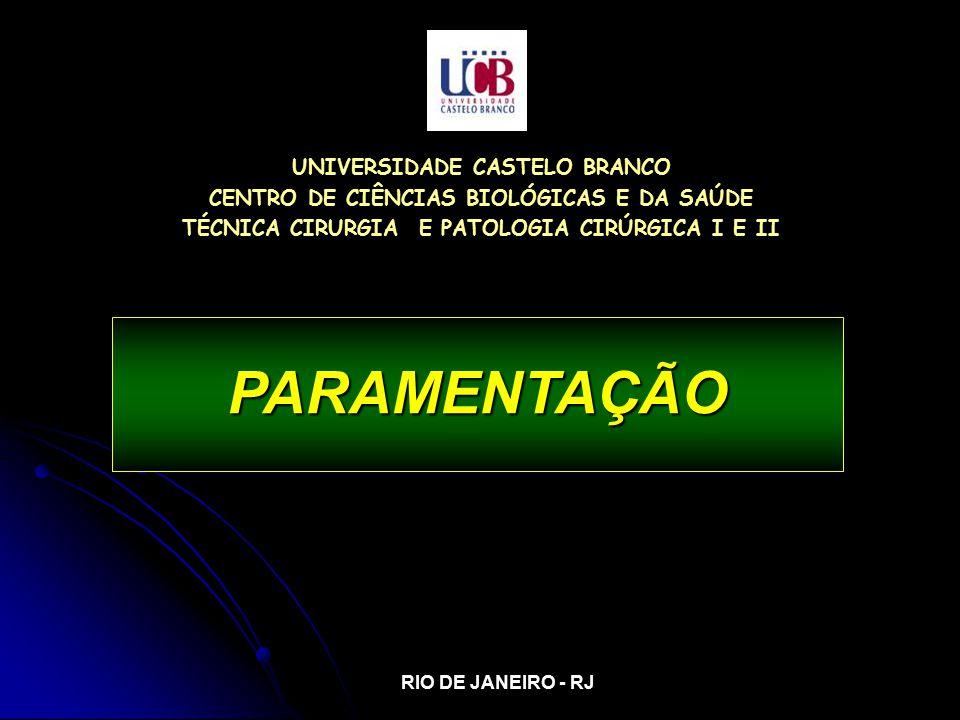 PARAMENTAÇÃO UNIVERSIDADE CASTELO BRANCO