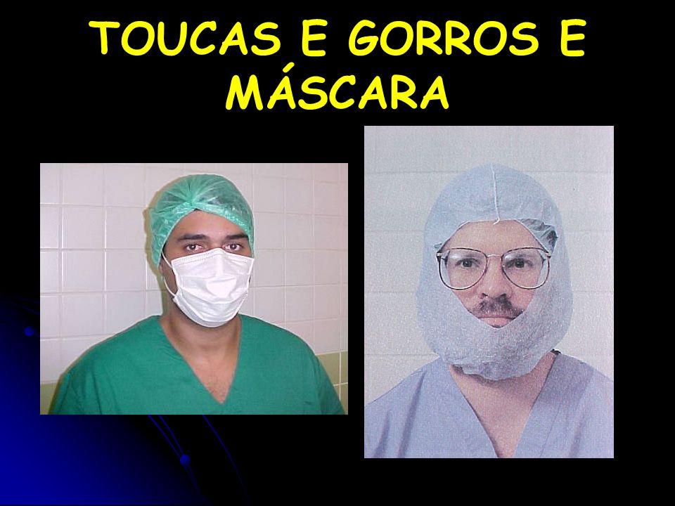 TOUCAS E GORROS E MÁSCARA