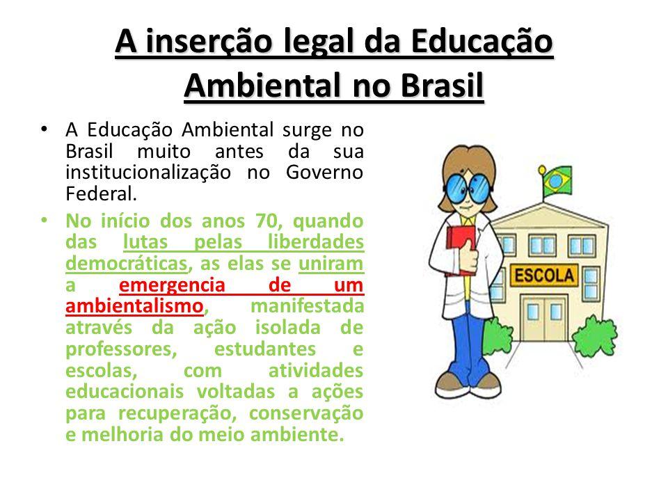 Suficiente EDUCAÇÃO AMBIENTAL E DE CONSUMO COMO INSTRUMENTO DA PROTEÇÃO  KO48