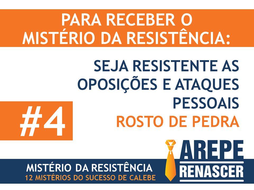 MISTÉRIO DA RESISTÊNCIA: