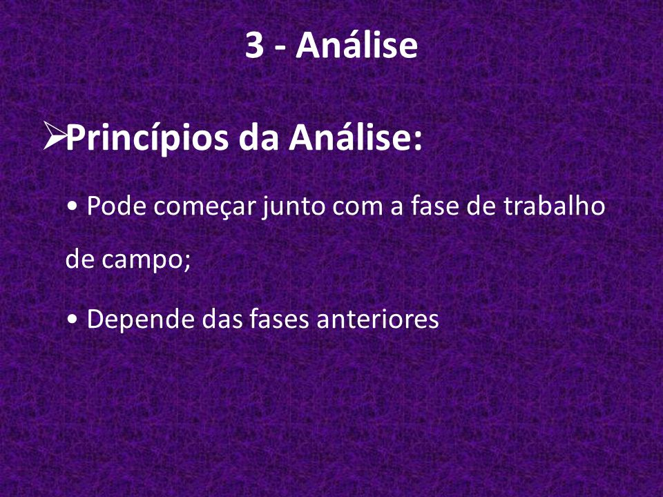Princípios da Análise: