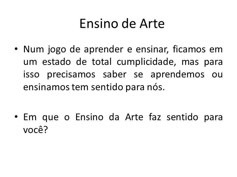 Ensino de Arte