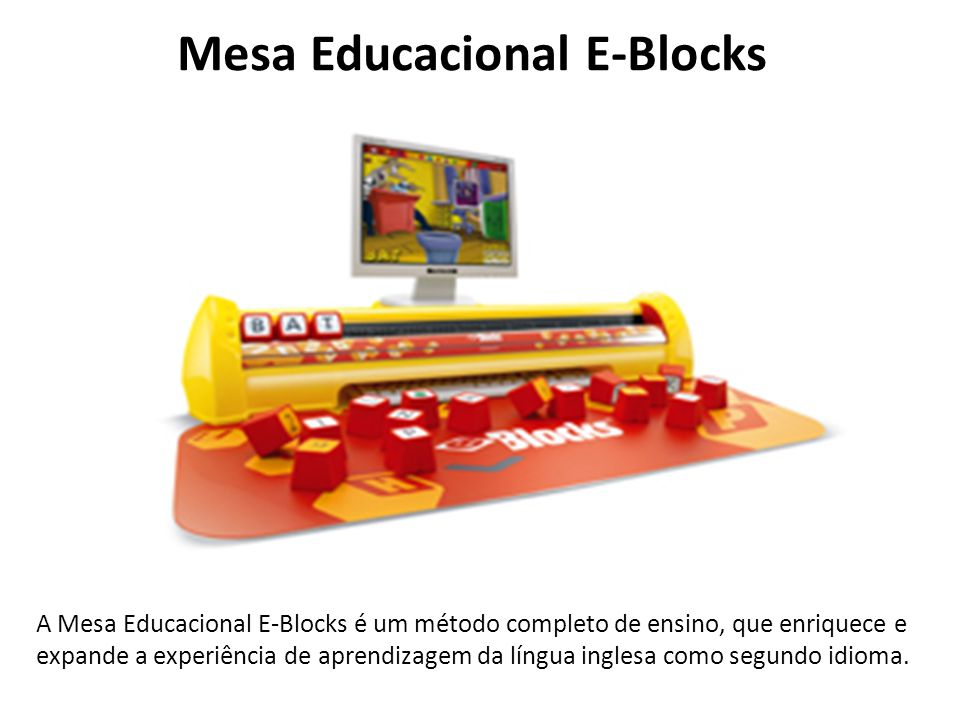 Mesa Educacional E-Blocks
