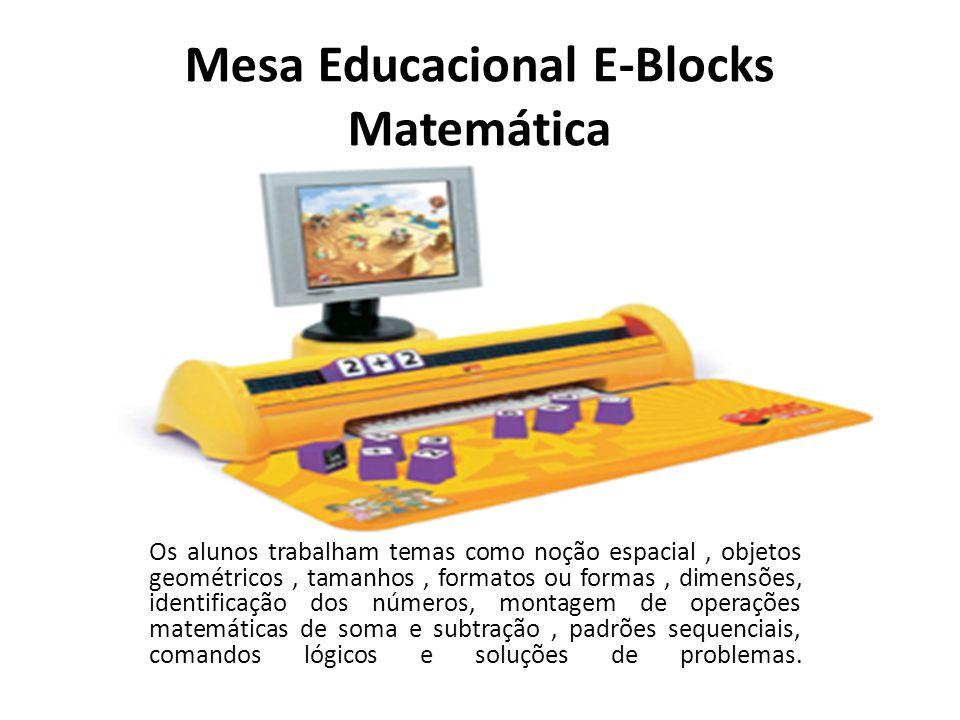 Mesa Educacional E-Blocks Matemática