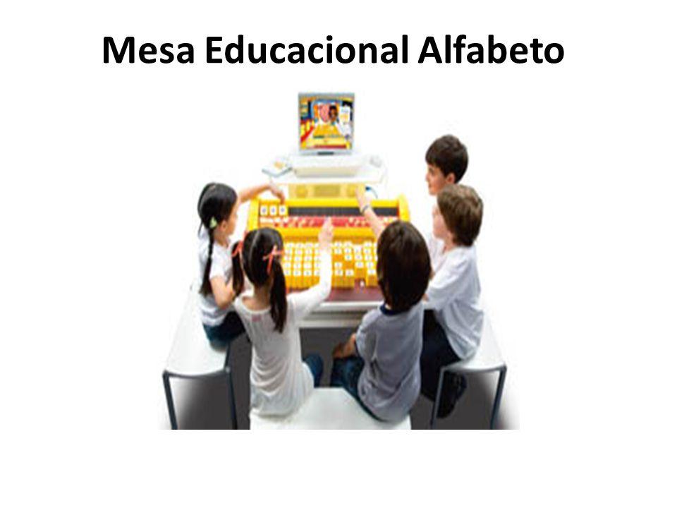 Mesa Educacional Alfabeto