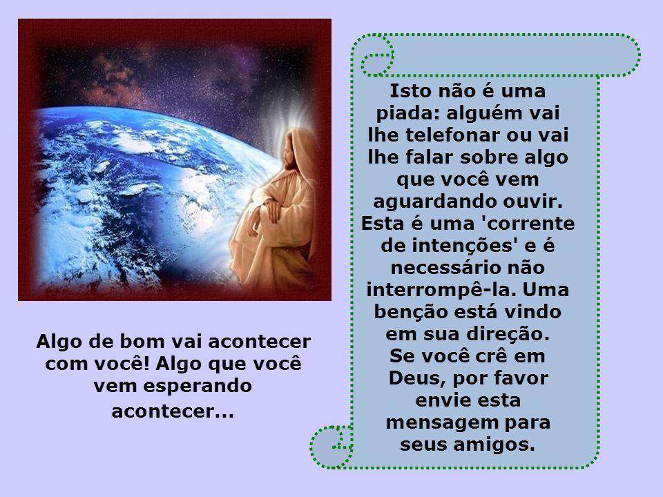 """Arquivos Deus Vai Falar Com Você: Querido(a)s: """"Deus Move O Céu Inteiro Naquilo Que O Ser"""