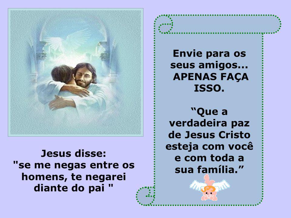 """Querido(a)s: """"Deus Move O Céu Inteiro Naquilo Que O Ser"""