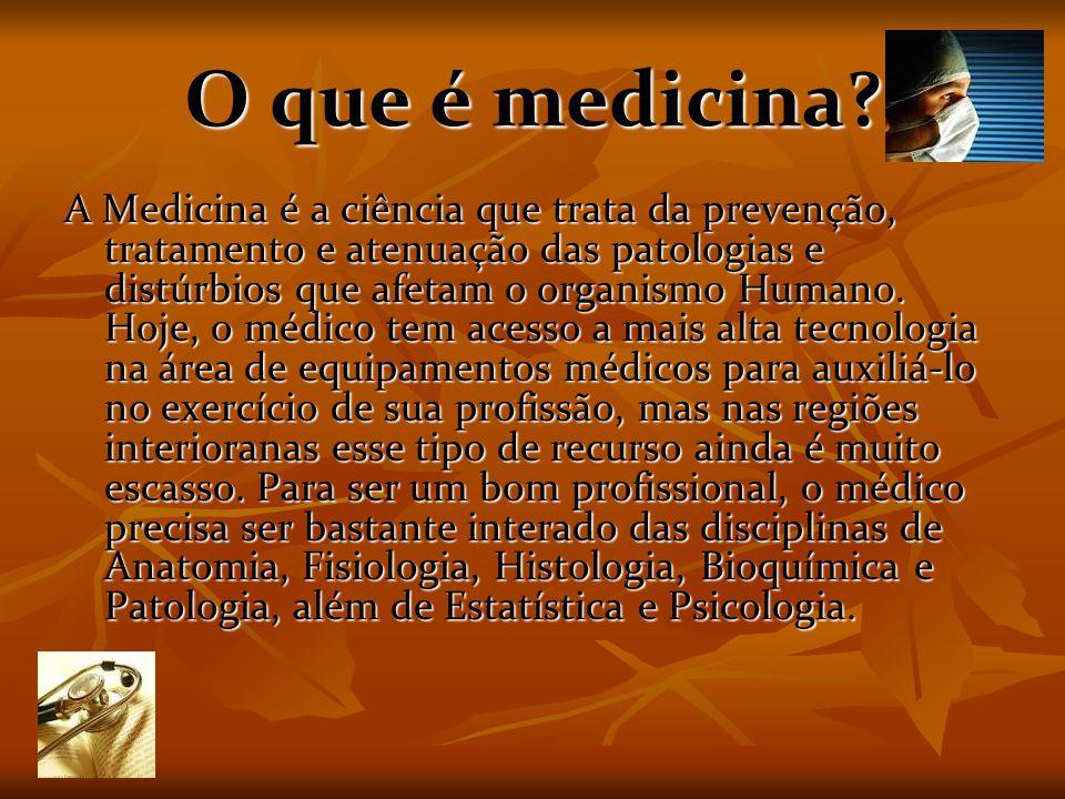 O que é medicina