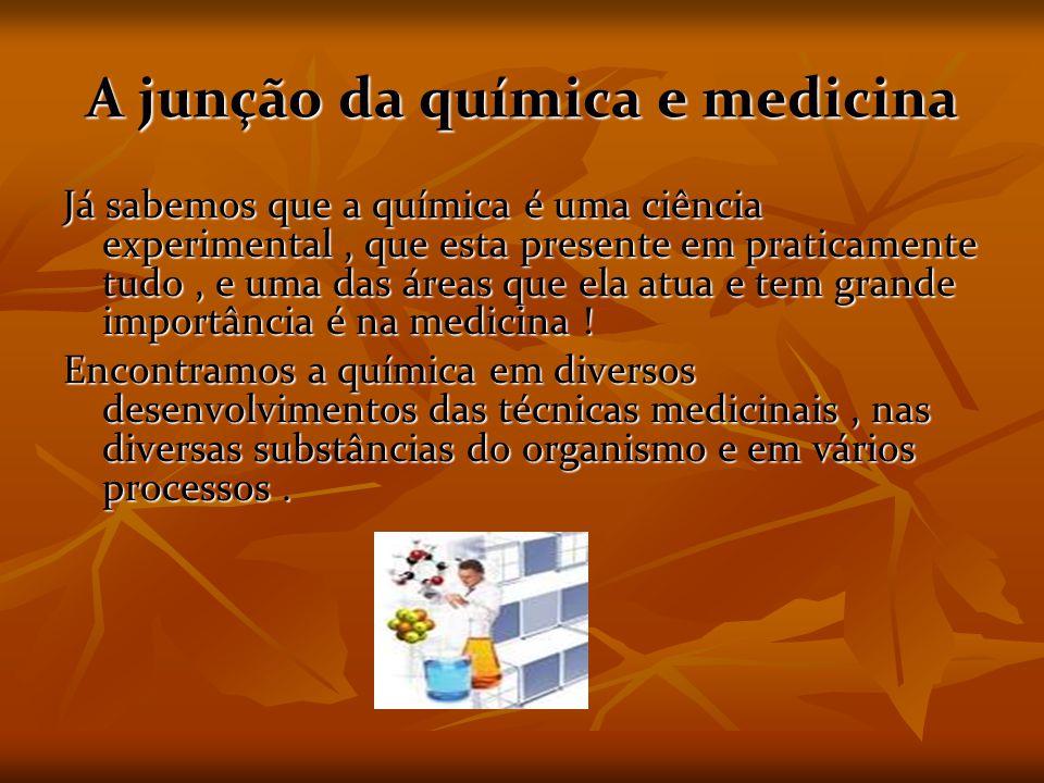 A junção da química e medicina