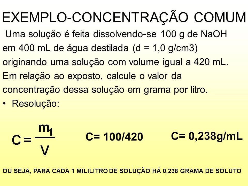 EXEMPLO-CONCENTRAÇÃO COMUM