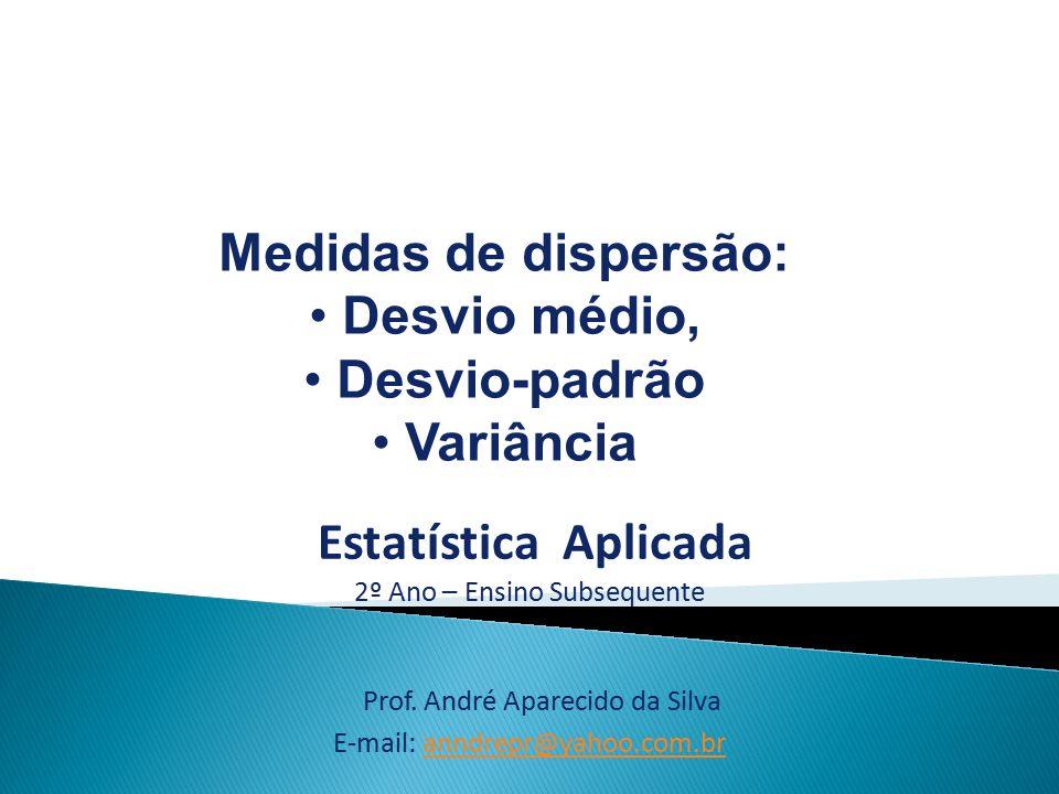 Prof. André Aparecido da Silva