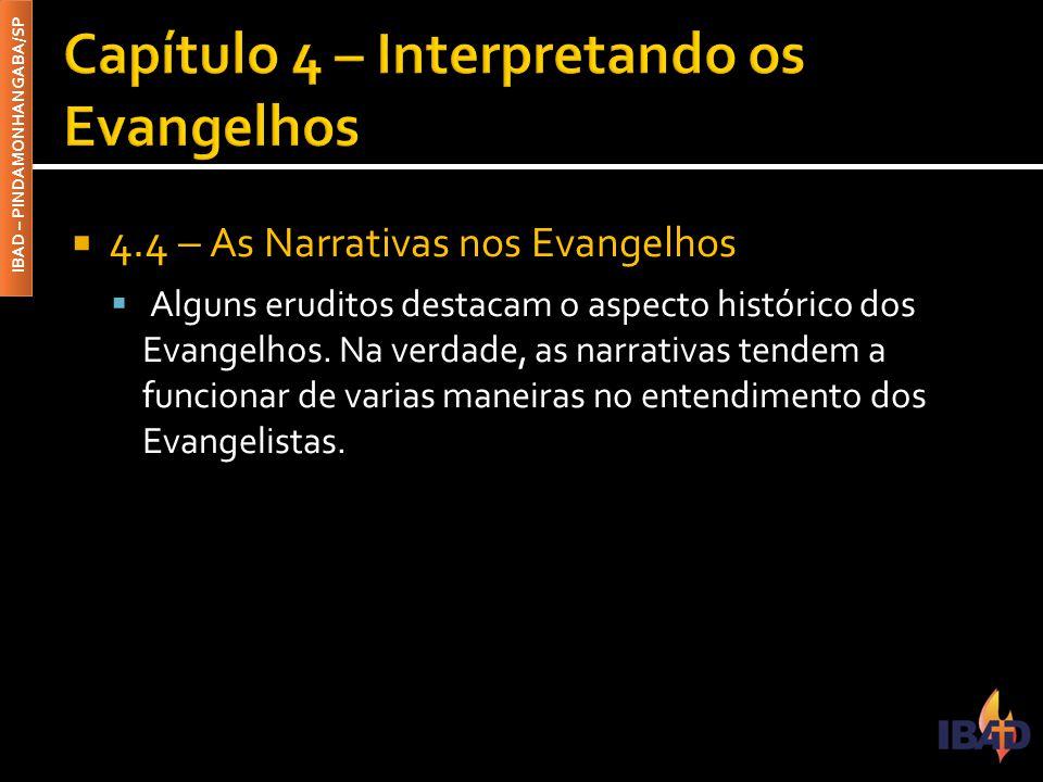 Capítulo 4 – Interpretando os Evangelhos
