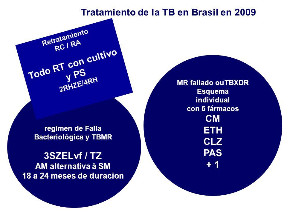 Tratamiento de la TB en Brasil en 2009