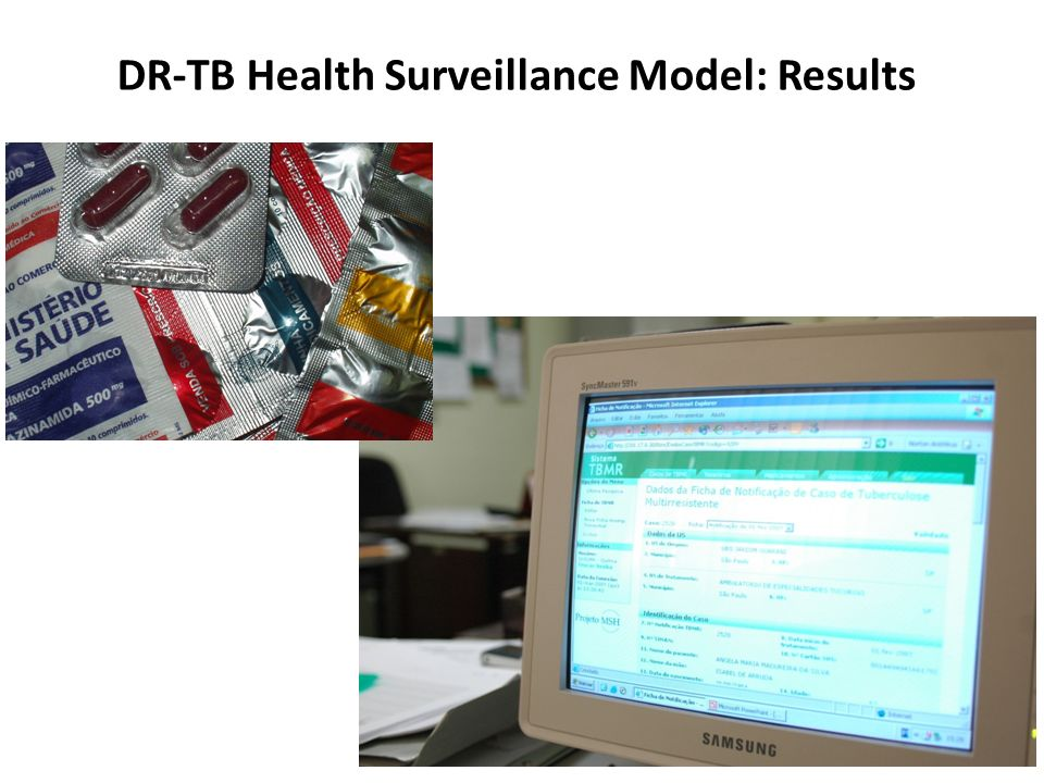 DR-TB Health Surveillance Model: Results