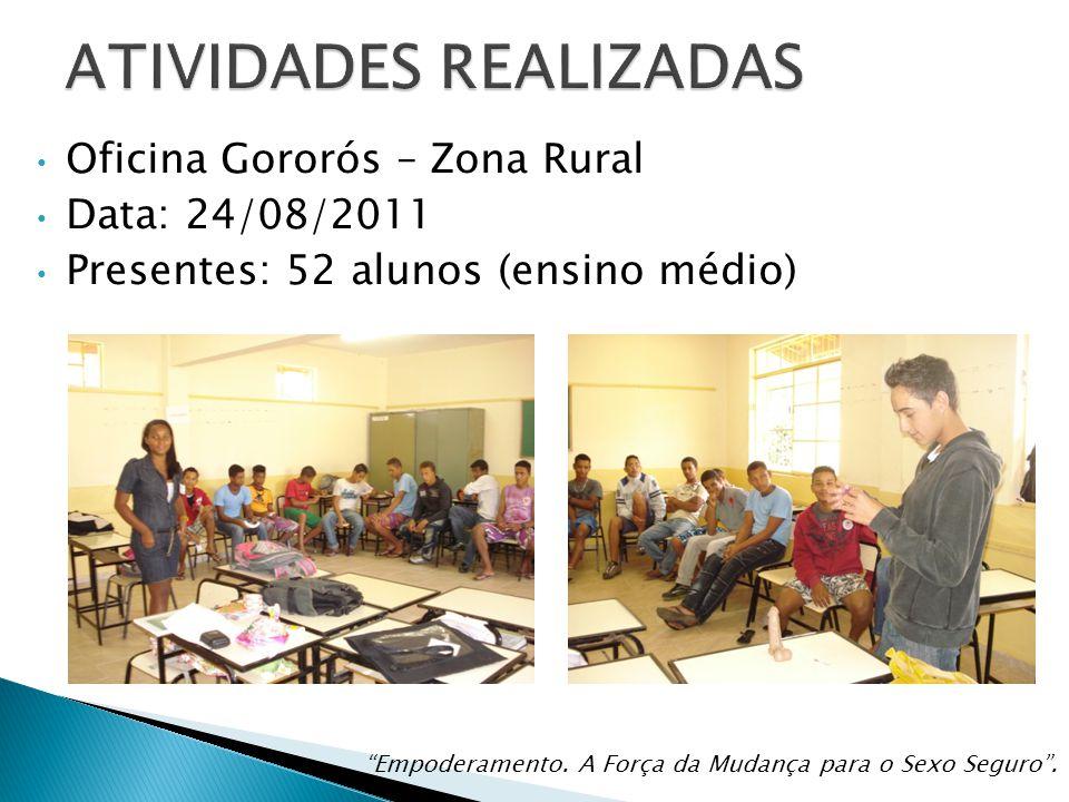 Sa de sexual e reprodutiva dom joaquim projeto for Oficina virtual medio rural