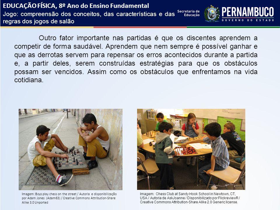 EDUCAÇÃO FÍSICA, 8º Ano do Ensino Fundamental