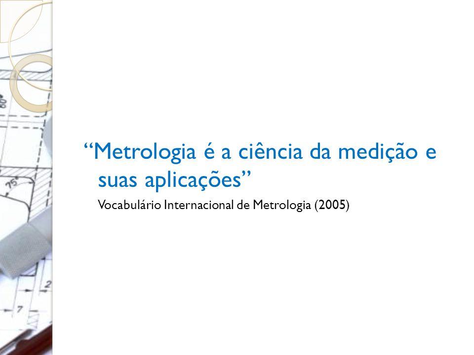 Metrologia é a ciência da medição e suas aplicações