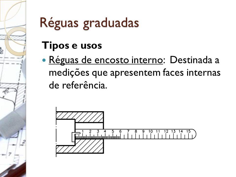 Réguas graduadas Tipos e usos