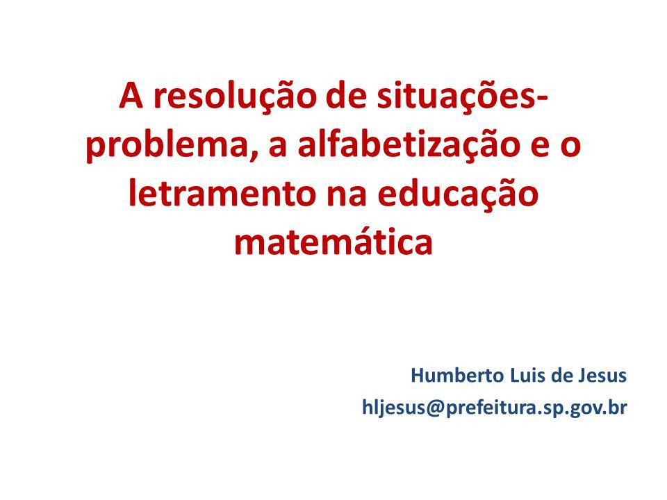 Populares A resolução de situações-problema, a alfabetização e o letramento  IW16