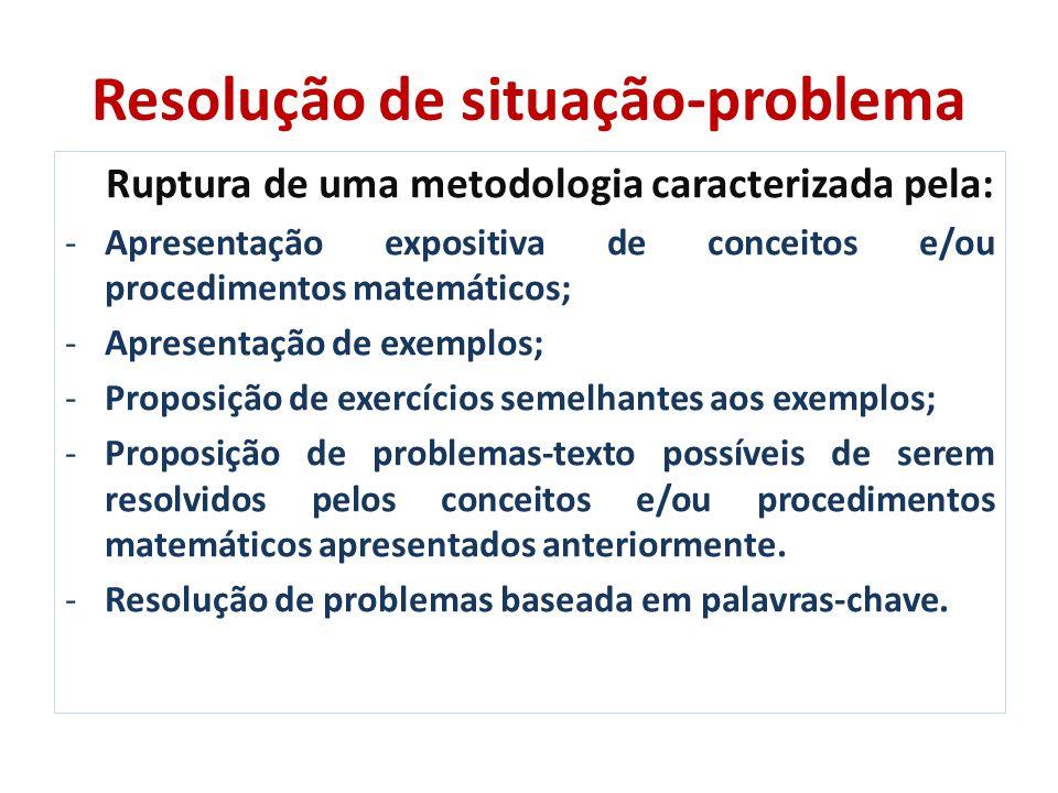 Resoluções de problemas matemáticos