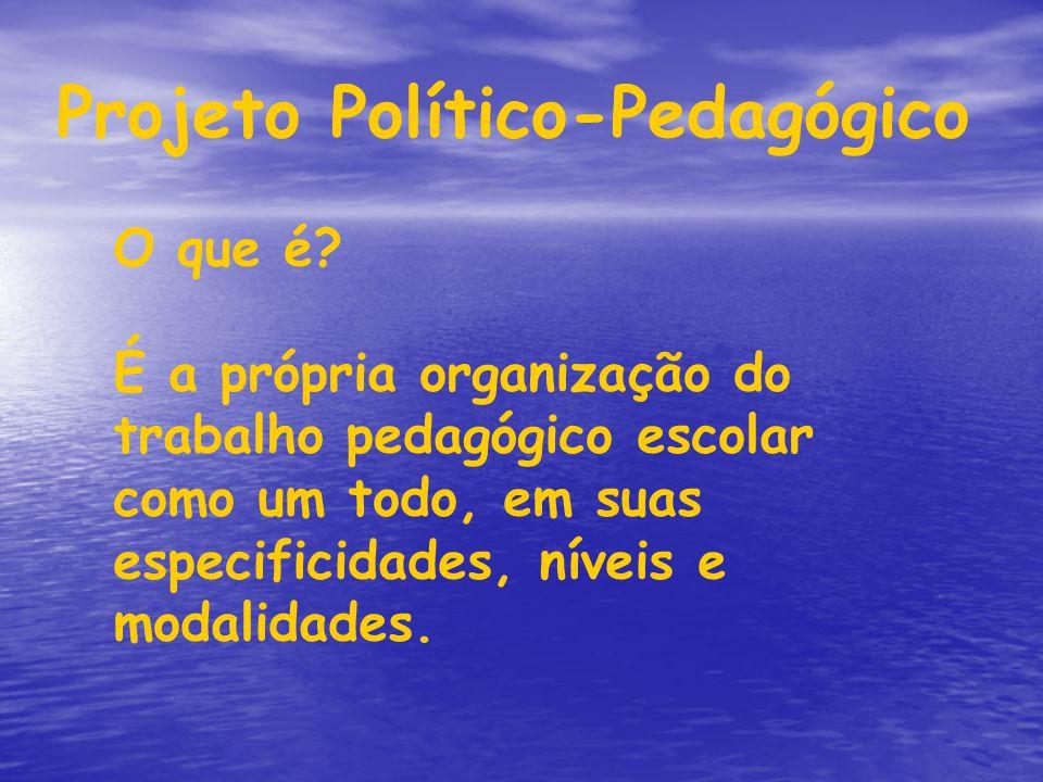 Projeto Político-Pedagógico