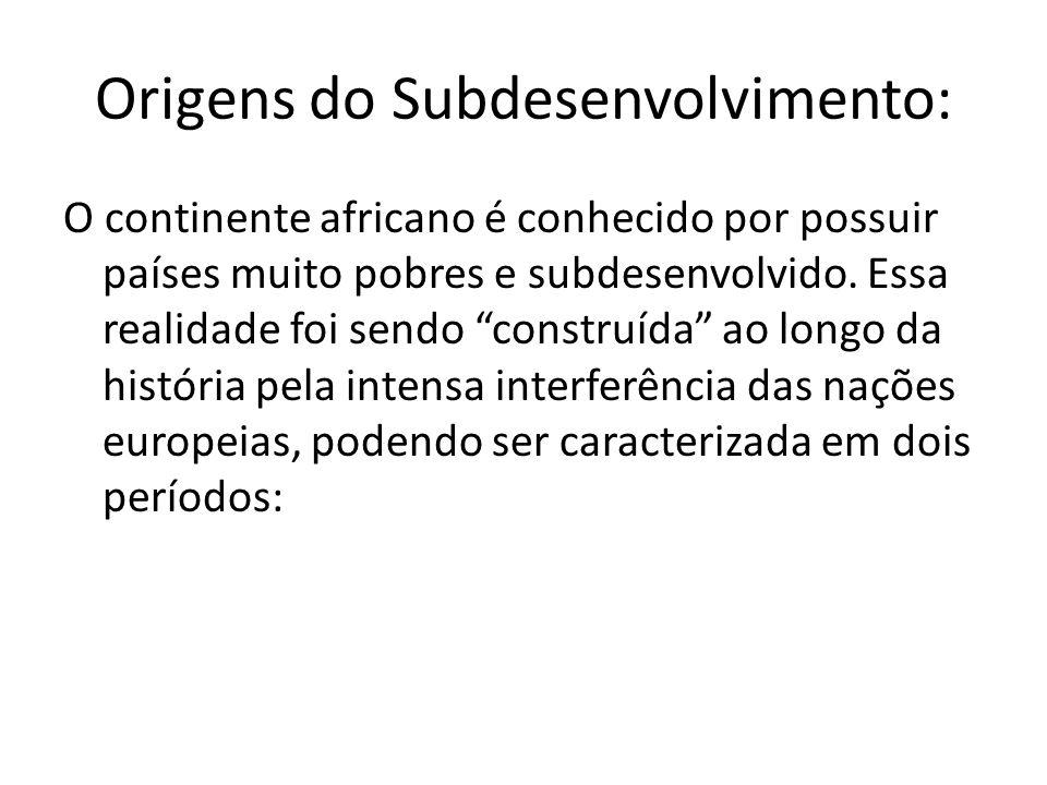 Origens do Subdesenvolvimento: