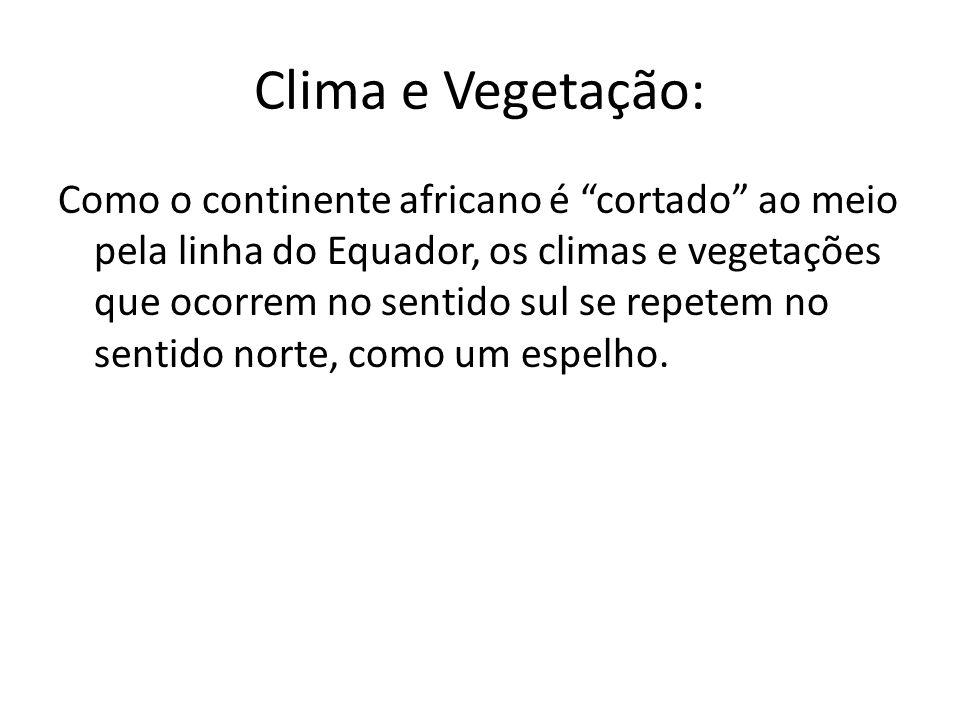 Clima e Vegetação: