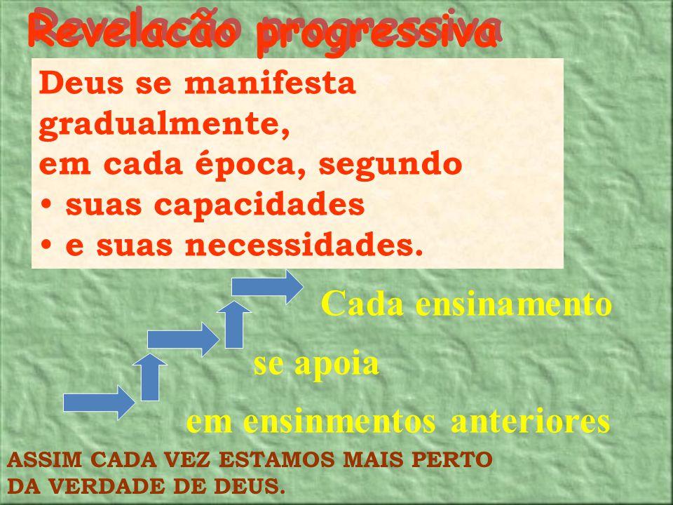 Revelacão progressiva