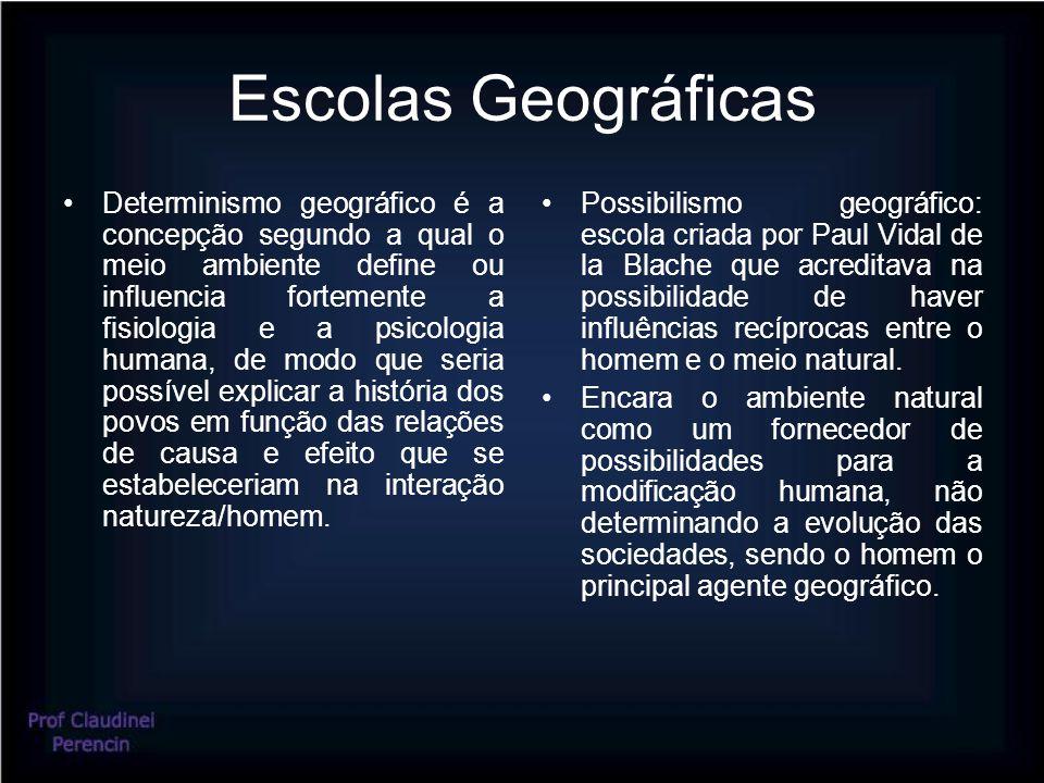 Escolas Geográficas
