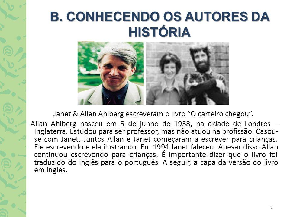 B. CONHECENDO OS AUTORES DA HISTÓRIA