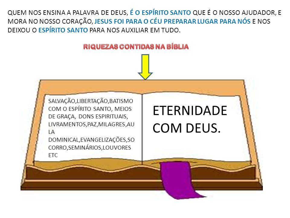 RIQUEZAS CONTIDAS NA BÍBLIA