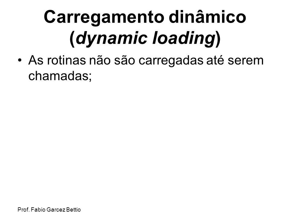 Carregamento dinâmico (dynamic loading)
