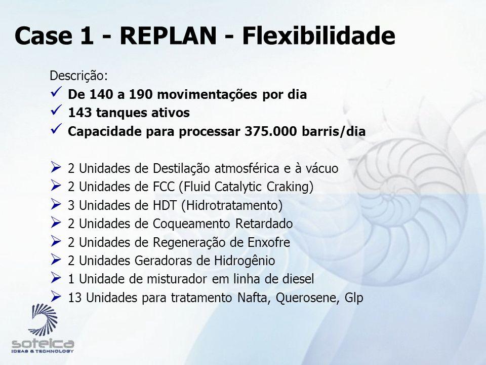 Case 1 - REPLAN - Flexibilidade