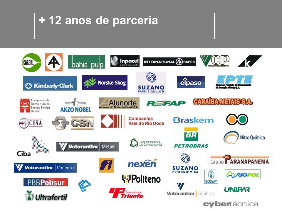 + 12 anos de parceria CARBOCLORO