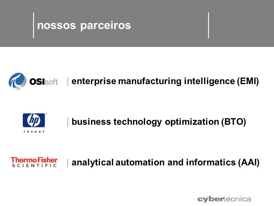 nossos parceiros | enterprise manufacturing intelligence (EMI)