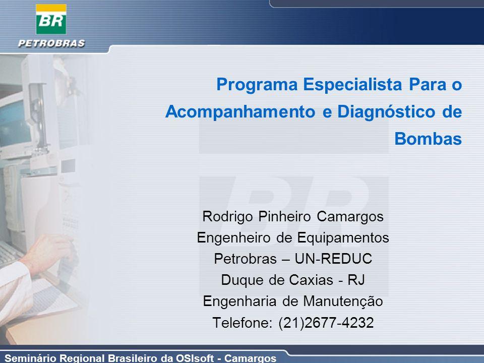 Programa Especialista Para o Acompanhamento e Diagnóstico de Bombas