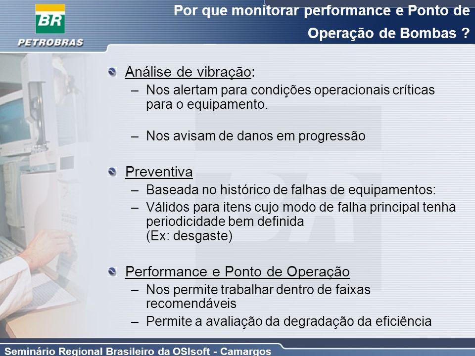 Por que monitorar performance e Ponto de Operação de Bombas