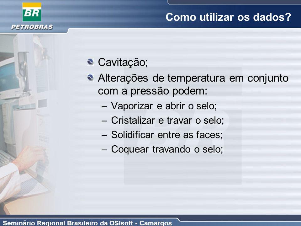 Alterações de temperatura em conjunto com a pressão podem: