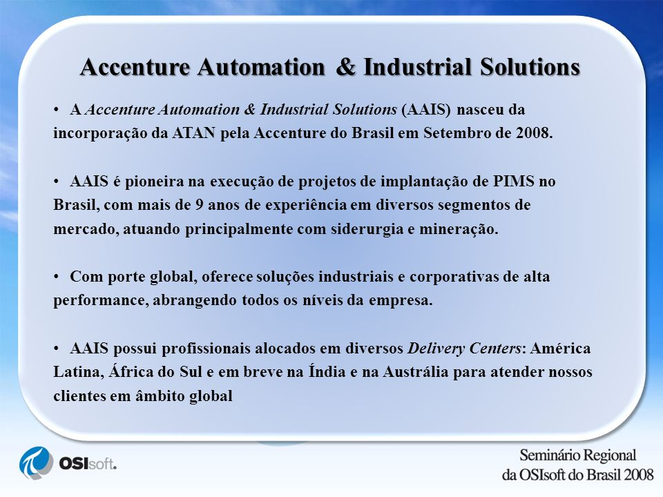 Accenture Automation & Industrial Solutions