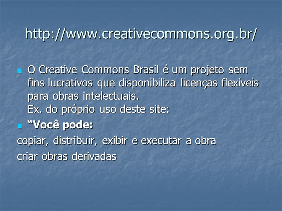 http://www.creativecommons.org.br/