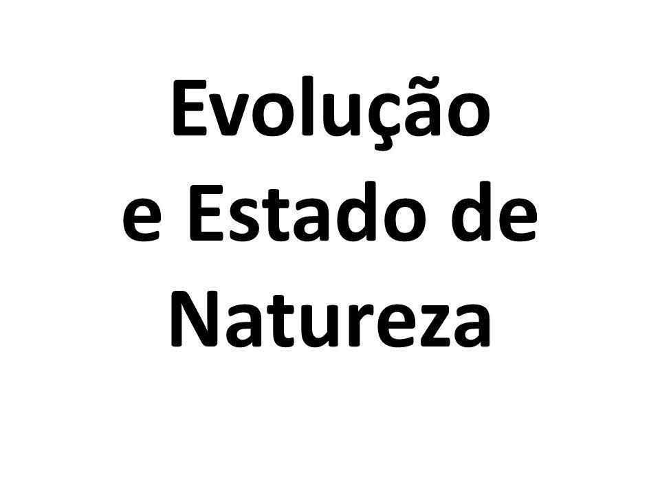 Evolução e Estado de Natureza