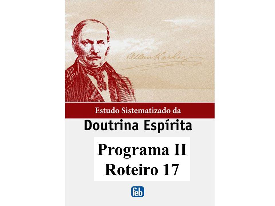 Programa II Roteiro 17