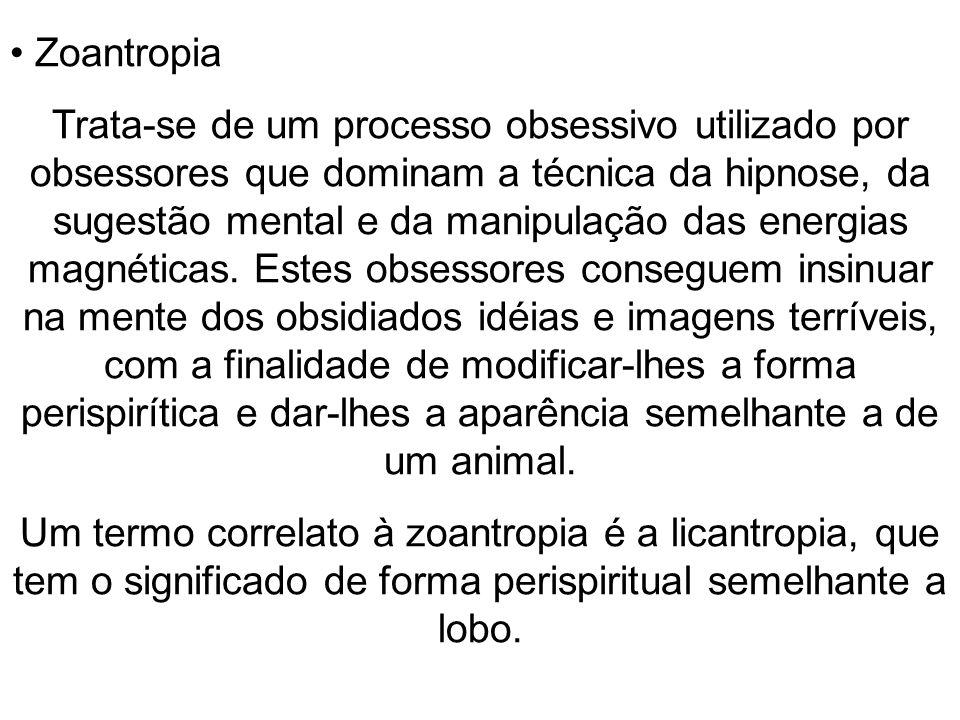 Zoantropia