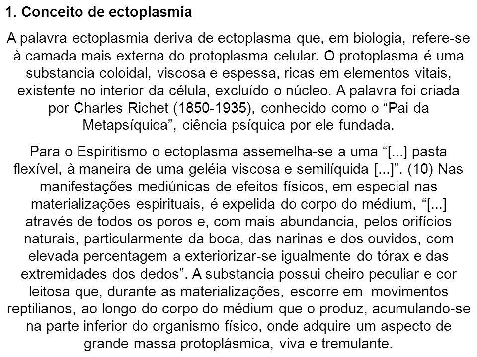 1. Conceito de ectoplasmia
